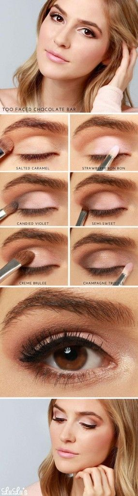 Simple Pink Eye Makeup Tutorial