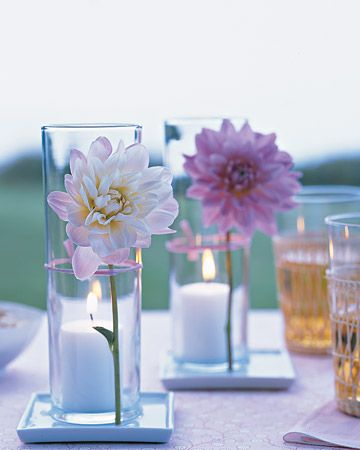 simple table decoration idea - Table Decoration