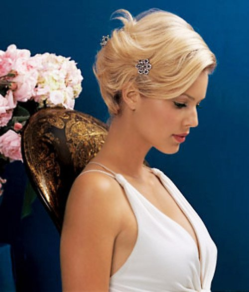 Simple Wedding Hair Ideas: Ideal Wedding Hairstyles And Makeup Ideas For Blondes