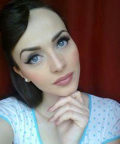 15 glamorous vintage makeup ideas  pretty designs