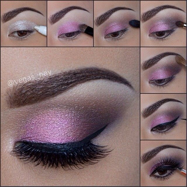 Light Pink Smokey Eye Makeup 14 pretty pink smokey eye makeup looks ...