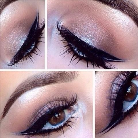 Soft Winged Smokey Eye Makeup