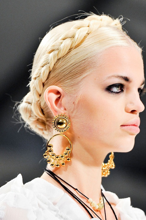 Sophisticated Braided Hairstyle