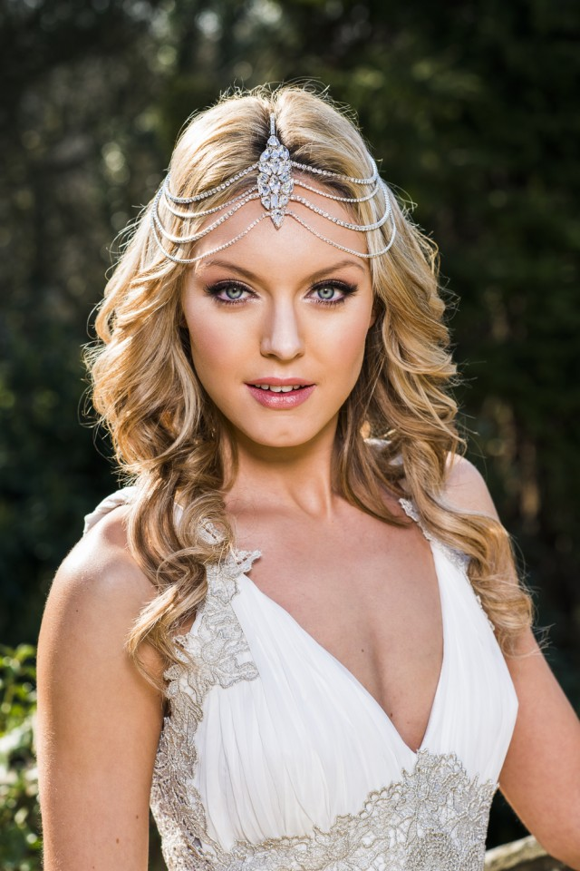 Sophisticated Bridal Hair Accessory