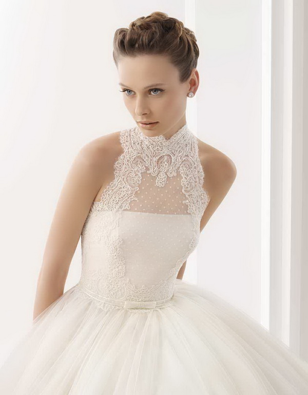 Sophisticated Bridal Hairstyle
