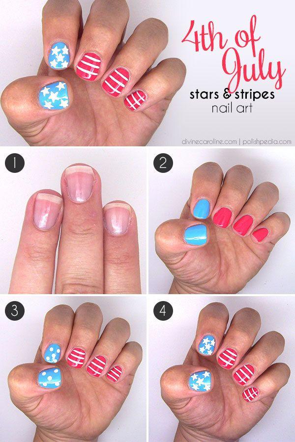 Nail Tutorials How To Paint A Stripe Nail Art Pretty Designs