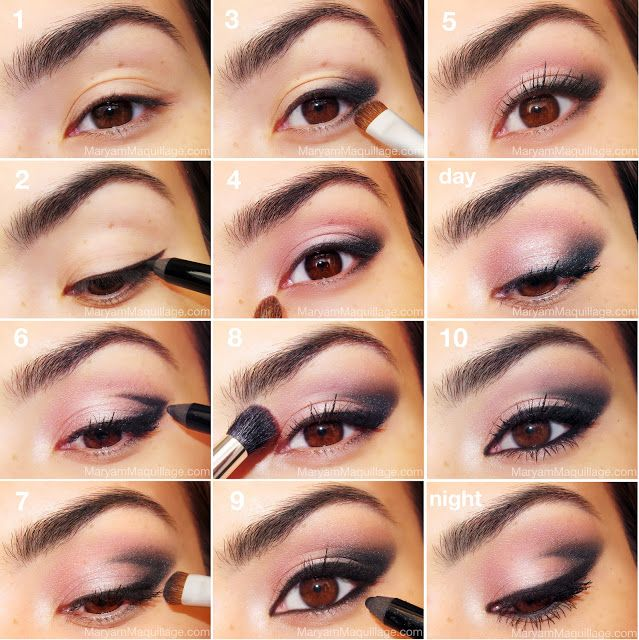 Step by Step Makeup Tutorial CutCrease Eye Makeup Look