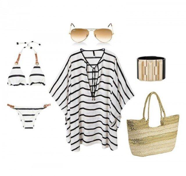 Stripe Beach Outfit