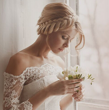 Stunning Braided Wedding Hairstyle