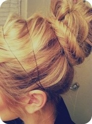 Stunning Fishtail Wrapped Bun Hairstyle