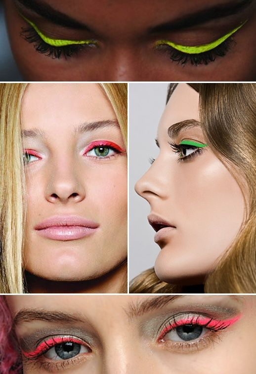 17 Fabulous Neon Eye Makeup Ideas for Women