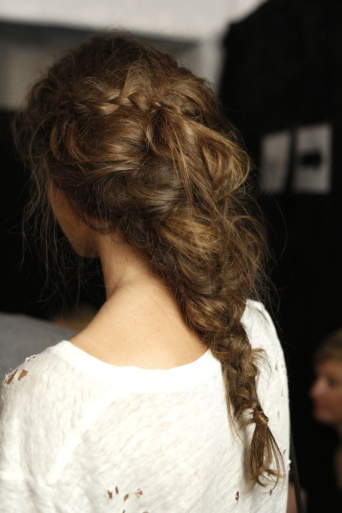 Stylish Braided Hair
