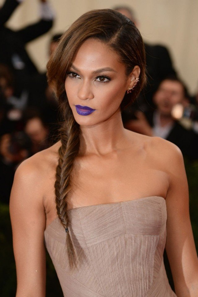 Stylish Fishtail Braided Hairstyle for Brown Hair