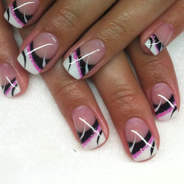 stylish gel nails - Gel Nail Designs Ideas