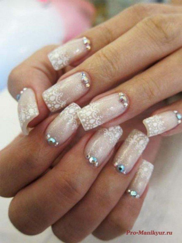 Nails Wedding Nails: 14 Wedding Nail Ideas To Try