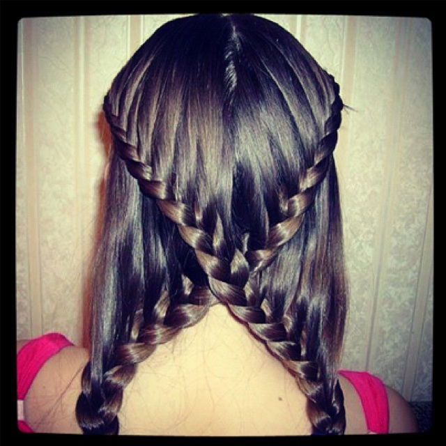 Sweet Braided Hairstyle for Girls