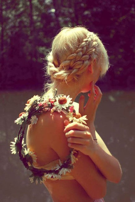 Sweet Braided Hairstyle