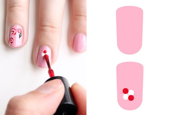 Sweet Rose Nail Art