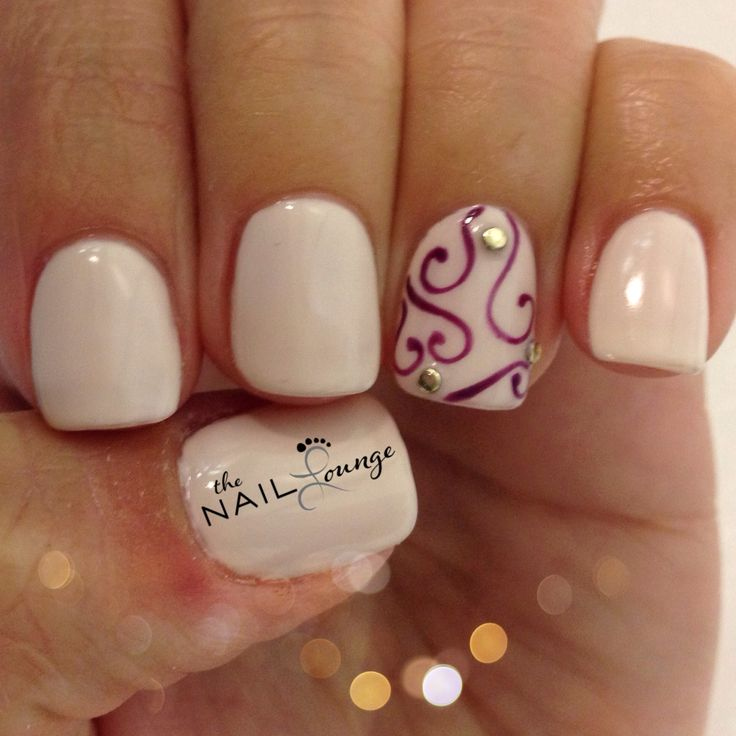 Swirl Nails - 15 Summer Gel Nails - Pretty Designs