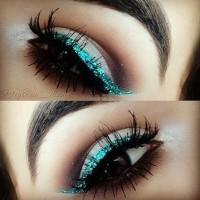 Teal Eye Liner
