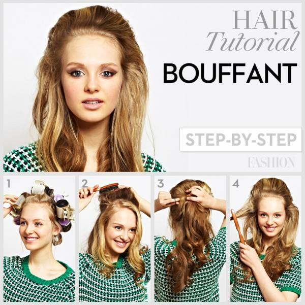 The Bouffant Hairstyle Tutorial