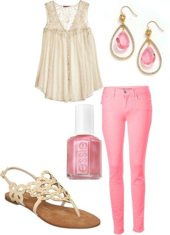 انثوية للارتداء اللون الوردي