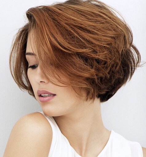 Trendy Textured Short Hairstyle