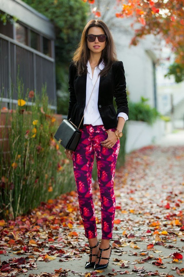 Voguish Outfit Ideas The Trendy Printed Jeans Pretty Designs