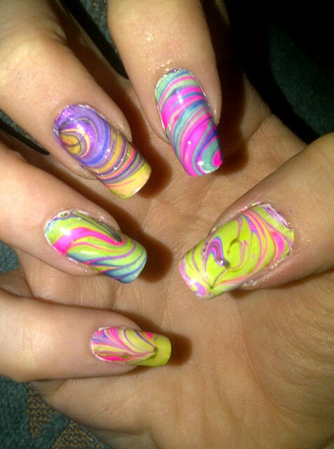 15 colorful nails for summer