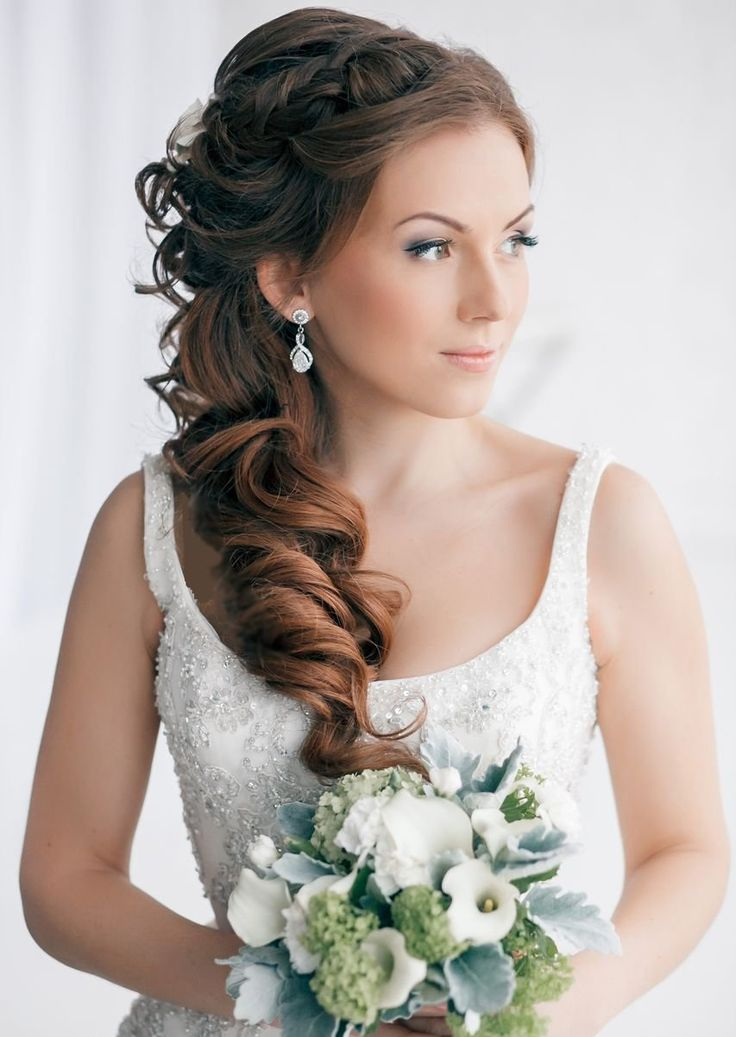 15 Romantic Bridal Hairstyles For The Season