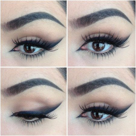 Winged Smokey Eye Liner