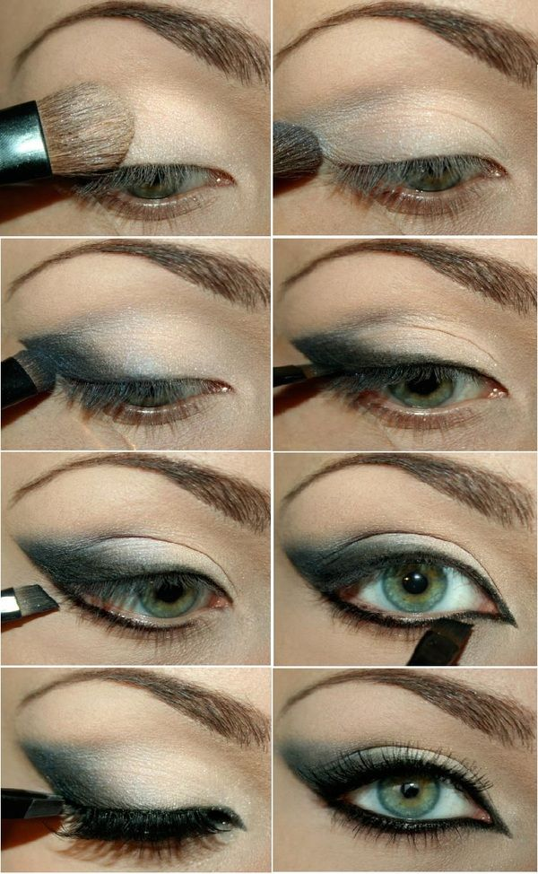 Winged Smokey Eye Makeup Tutorial