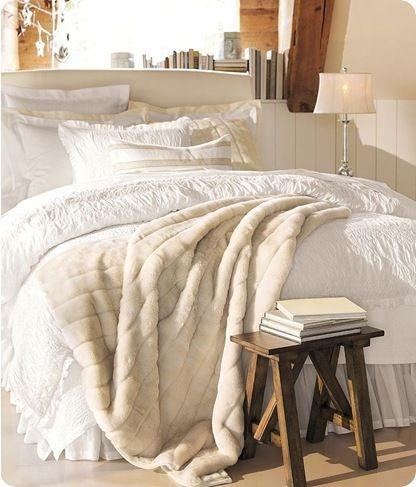 Winter Bedroom Cozy Blanket