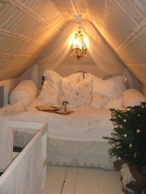 Winter Bedroom Dreamy Vibe