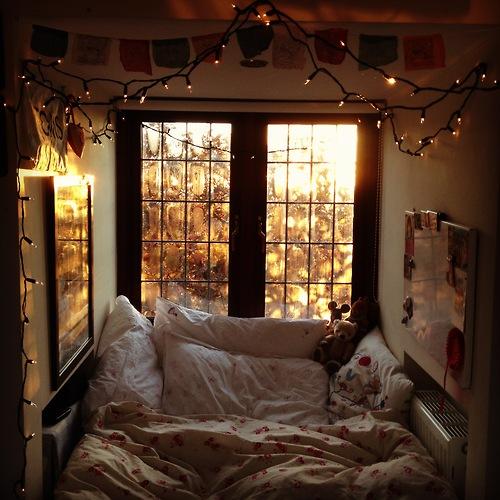 Winter Bedroom Harmony Vibe