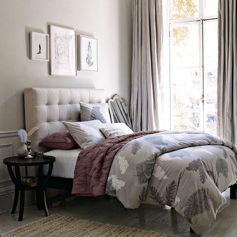 Winter Bedroom Modern Vibe