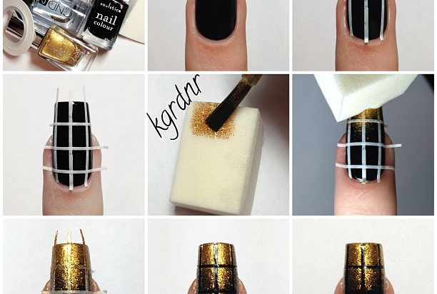 13 Fabulous Sponge Nail Art Designs For 2014 Pretty Designs