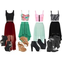 Youthful Skirt Outfit Ideas