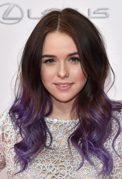 Acacia Brinley Stunning Ombre Hairstyle