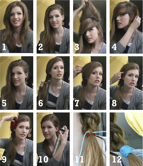 Adorable Side Braided Hairstyle Tutorial