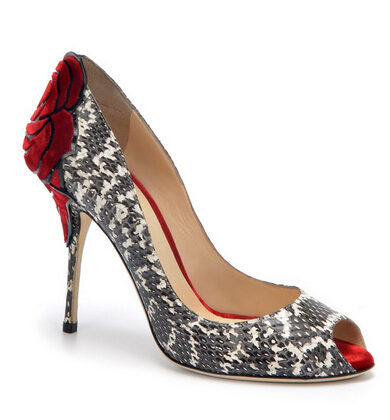 Alberto Moretti Exotic Skin Pumps