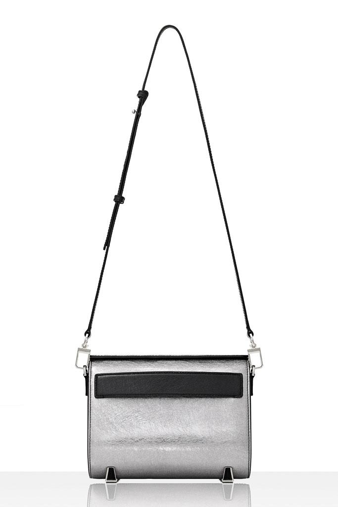 Alexander Wang Silver Shoulder Bag