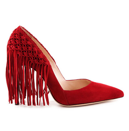 Alexandre Birman Red Pumps