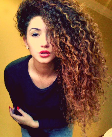 Amazing Long Curly Hairstyle