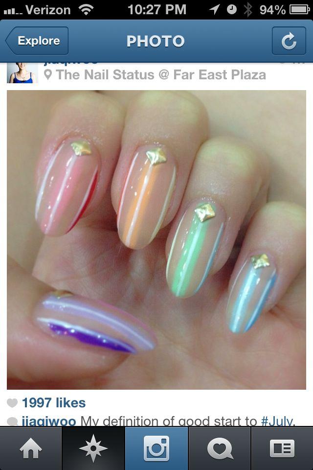 15 super cool star trek nail designs pretty designs amazing star trek nail design prinsesfo Image collections