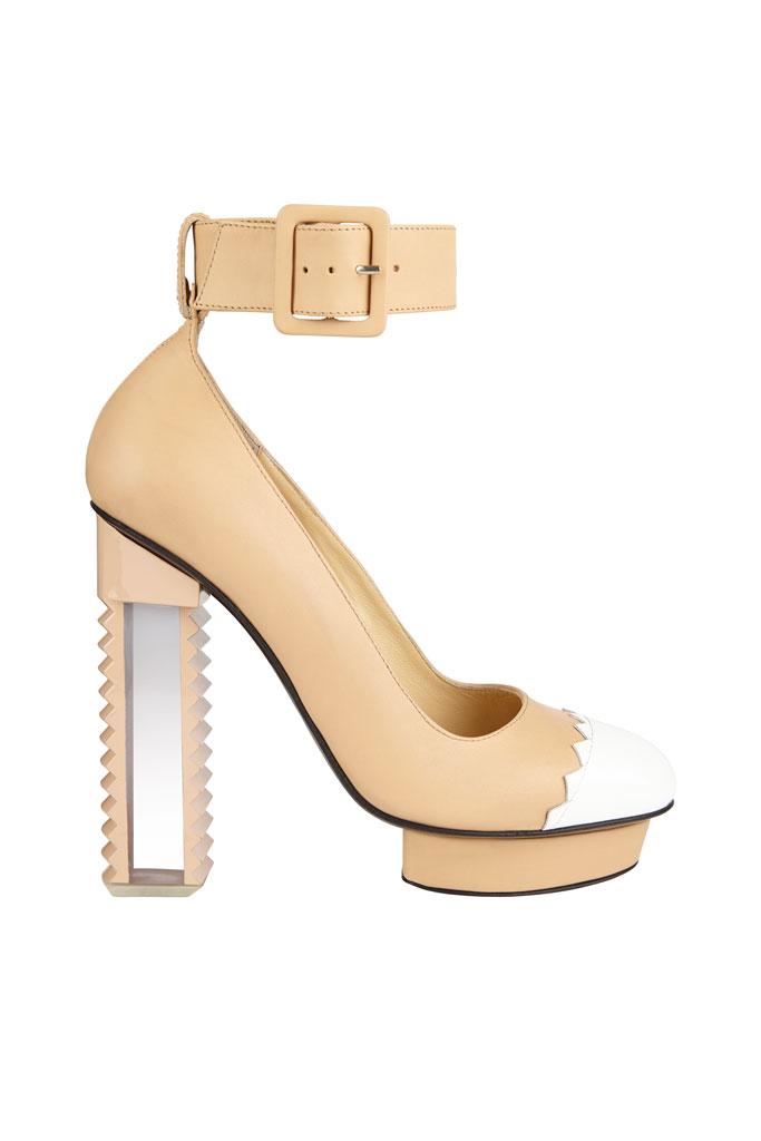 Aperlaï Platform High Heels
