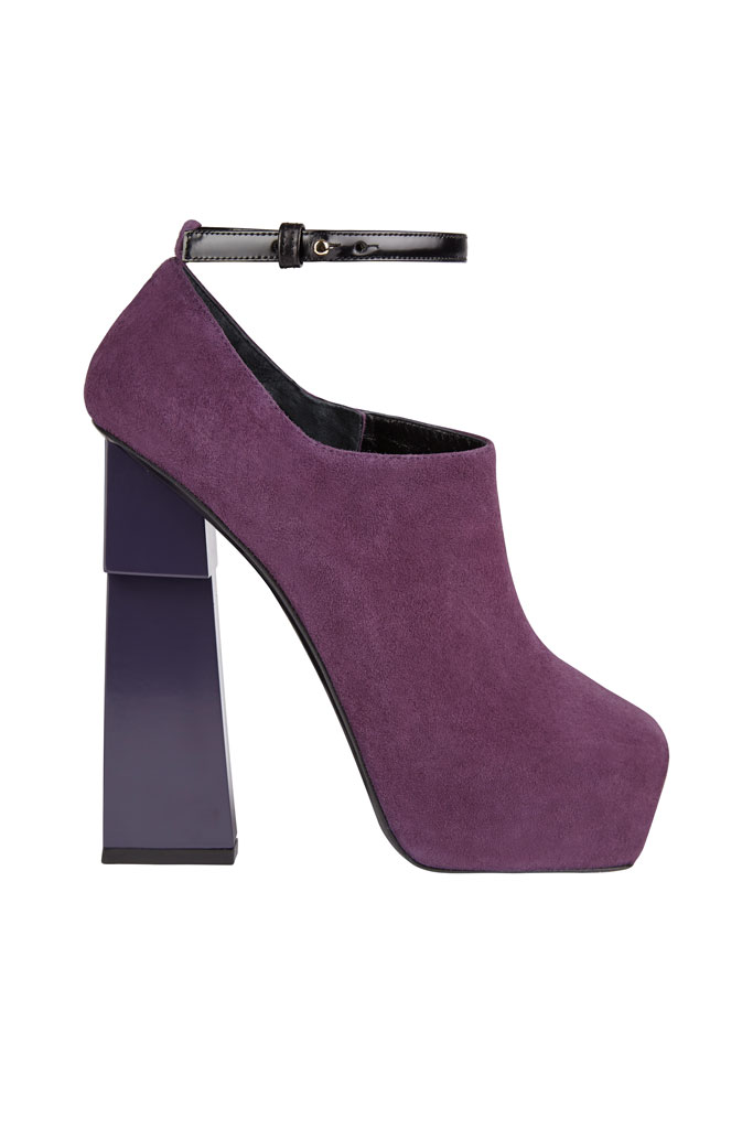 Aperlaï Purple Platform Shoes for Fall 2014