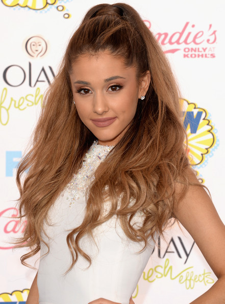 Ariana Grande High Ponytail