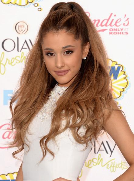 Ariana Grande High Ponytail