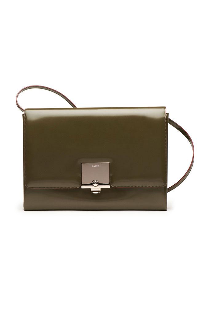Bally Green Shoulder Bag